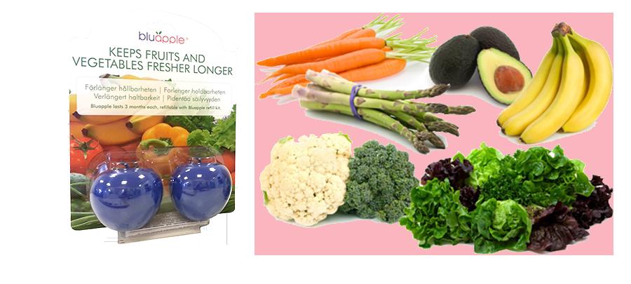 Bluapple - förlänger hållbarheten på frukt och grönsaker